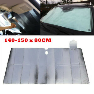 Folding Auto Windshield Sunshade Sun Shade Fit for Car Cover Visor Wind Shield