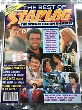 The Best Of Starlog The Science Fiction Universe Magazine Vol 7