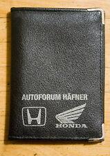 Honda Fahrzeugscheinmappe aus Leder