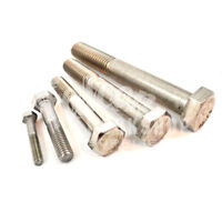 PACK OF 4, M10 x 120mm A2 STAINLESS STEEL HEXAGON HEX HEAD BOLTS COARSE THREAD *
