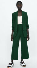 Zara Women's suit Forest Green Size Small