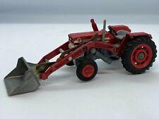 Corgi 69 - Massey Ferguson 165 Tractor with Shovel / Digger Vintage Original