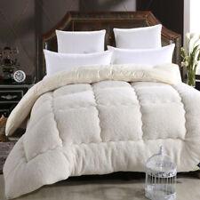 Luxury Australian Lambwool Warm Camel Quilt Blanket Duvet Thickening Comforter