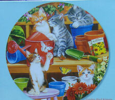 .PUZZLE...JIGSAW...WILLIAMS...Garden Shed Kittens....300pc..Factory Sealed