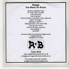 (FU994) Stagga, The Warm Air Room - DJ CD
