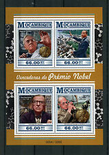 Mozambique 2015 MNH Nobel Prize Winners 4v M/S Martin Luther King Sartre Fleming