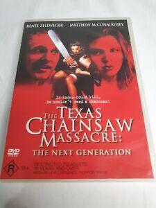 The Texas Chainsaw Massacre: The Next Generation (DVD, 1994) Matthew McConaughey