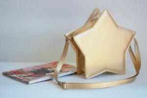 Lolita Girl Star Shaped Shouder Messenger Bag Crossbody Handbag Mini Tote Purse
