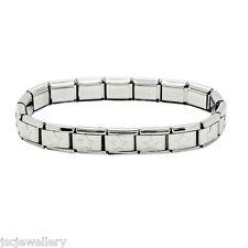 18 Link Shiny Starter Base Bracelet - Daisy Charm Fits Nomination Classic