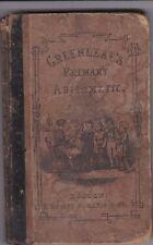 ANTIQUE 1852 GREENLEAF'S PRIMARY ARITHMETIC MATHEMATICS