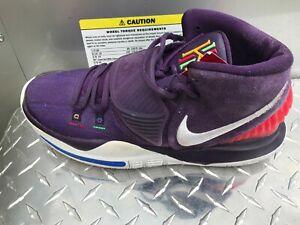 Mens Nike Kyrie 6 Enlightenment Purple Sneakers BQ4630 500 Size 9.5