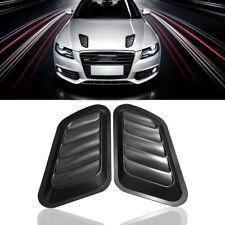 2x Universal Car Auto Decorative Air Flow Intake Scoop Bonnet Side Fender Vent
