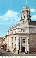 BG13933 car town hall church street ballymena co antrim Northern Ireland uk