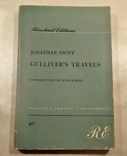 Gulliver's Travels by Jonathan Swift Rinehart Edition 1955 Paperback Ross Intro
