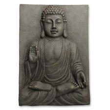 Buddha Wanddeko Deko Wand Bild Relief in Stein-Optik P-025