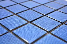 mosaïque carreau céramique bleu Celadon Heritage Cobalt 16-0404_b | 1 Plaque