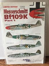 Cutting Edge 1/48 #CED480785 & CED72085  Messerschmitt Bf109K. Part 1
