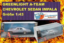 Greenlight Hollywood A-TEAM CHEVROLET IMPALA SEDAN Modellauto - Chevy - 1:43