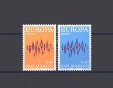 SAN MARINO, EUROPA CEPT 1972, COMMUNICATIONS THEME, MNH