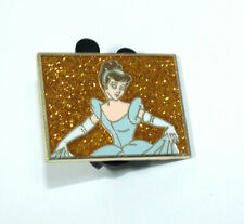 Disney Pin Trading D23 Expo Castle Collection Mystery Gold Glitter Cinderella