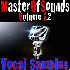VOCAL SAMPLES-  Wav Samples & Loops Universal Ableton Logic FL Studio FAST DL
