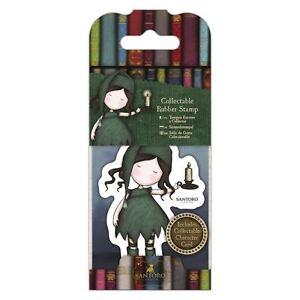 Gorjuss Girl Mini Collectable Stamp #34 Nightlight