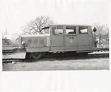 Union Pacific RR Dodge Snow Plow Engine  #B-10  Real Photo  1957  Vollrath