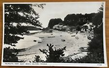 Vintage Postcard Falmouth Ferry Boat Beach Helford Passage 1950's?