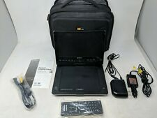 "Sony DVP-FX950 Portable DVD Player (9"") Black Swivel Screen w/Remote/Cables/Case"