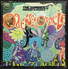The Zombies Odessey And Oracle LP VG+ 1968 Date TES 4013 Stereo USA Original 1st