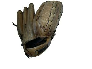 Vintage TED WILLIAMS Personal Mitt TWIN FLEX TRAP Pro 1638 Red Sox Baseball