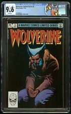 WOLVERINE LIMITED SERIES #3 (1982) CGC 9.6 WHITE PAGES