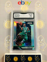 2018-19 Panini Prizm Terry Rozier #148 Silver Refractor - 10 GEM MT GMA Graded
