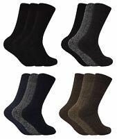 3 paires homme chaussettes laine chaudes epaisse respirantes pour hiver et froid