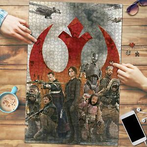 The Rogue One Characters Star Wars Art Jigsaw Puzzle 1000 pcs Nice Gift