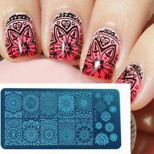 3D Manicure Template Nail Art Image Stamping Mandala Print Plate Stamper XJ-J13