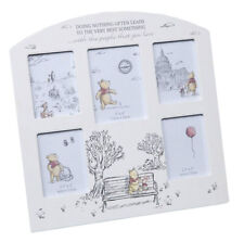 7211be6e206a NEW Christopher Robin Winnie The Pooh Multi Aperture Photo Frame Baby Year  Gift