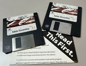 Adobe Streamline 3.1 MAC w/ Serial Number