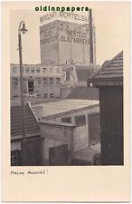 alte Fotokarte Amsterdam Bertels Oliefabrieken Reklame 2. WK vor 1945