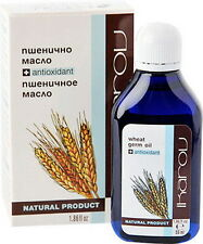 Pure WHEAT GERM OIL Antioxidant, Stretches, Eyes, Lips, Face, Body 55ml/1.86oz