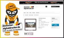 Bauzaunblende - Meerblick - Werbeblache - Sichtschutz -  340x173cm - Bauzaun
