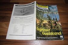 SOLDATENGESCHICHTEN und FLIEGERGESCHICHTEN # 163 / 1962 -- FEGEFEUER GUADALCANAL