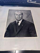 Apollo 12 Astronaut Charles Conrad 8X10 Signed Photo