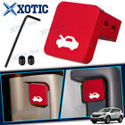 For Honda Civic Crv Element Hood Latch Release Pull Handle Cable Repair Kit Red