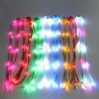 LED Shoelaces Shoe Laces Luminous Flash Light Up Glow Stick Shoestring Disco