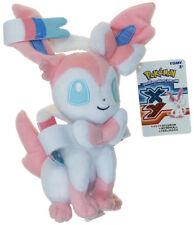 NEW Official TOMY Pokemon Sun & Moon Eeveelution Sylveon Stuffed Plush Doll