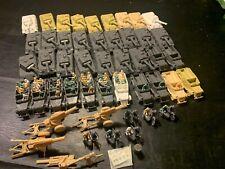 Giant Marx Recast Tank Battle-German Tanks, Apcs, Motorcycles, Seated Poses +!
