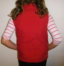Damen Mädchen Weste Rot Große 36-38 S- M-36-38  *Frühling* Von RO Ragazza **