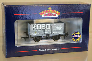 BACHMANN 37-078 KOBO BEATTIES LTD MANCHESTER 7 PLANK END DOOR WAGON 15 ny