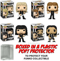 Funko POP! Rocks ~ METALLICA VINYL FIGURE SET w/Protector Cases
